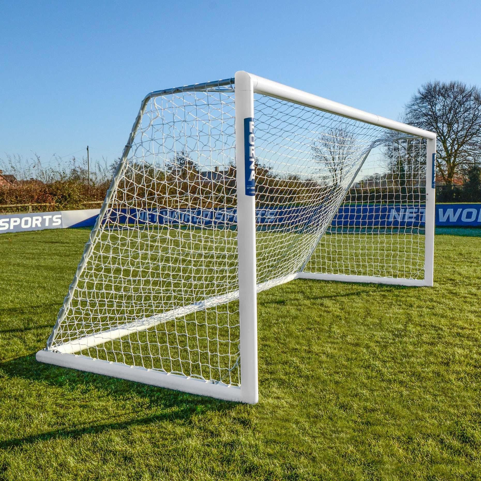 """16 x 7 3.5mm Soccer Goal Nets """"9v9""""   Net World Sports"""