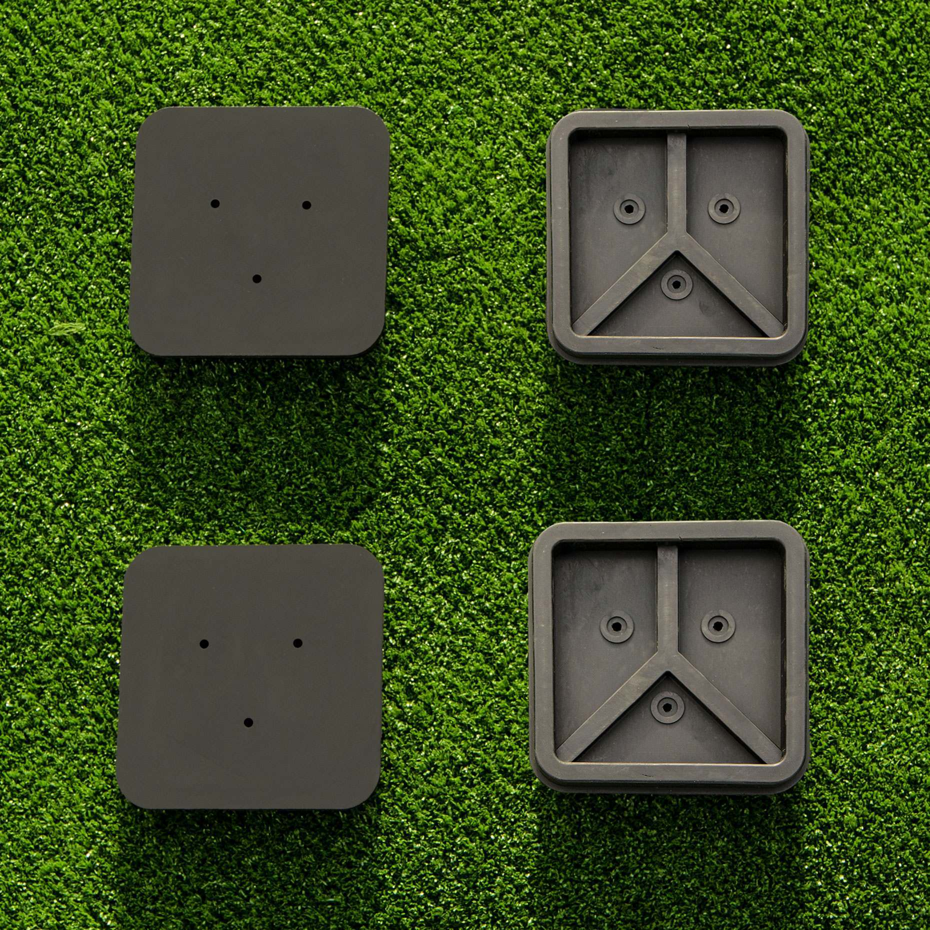Tennis post socket cap lids set of 2 tennis posts