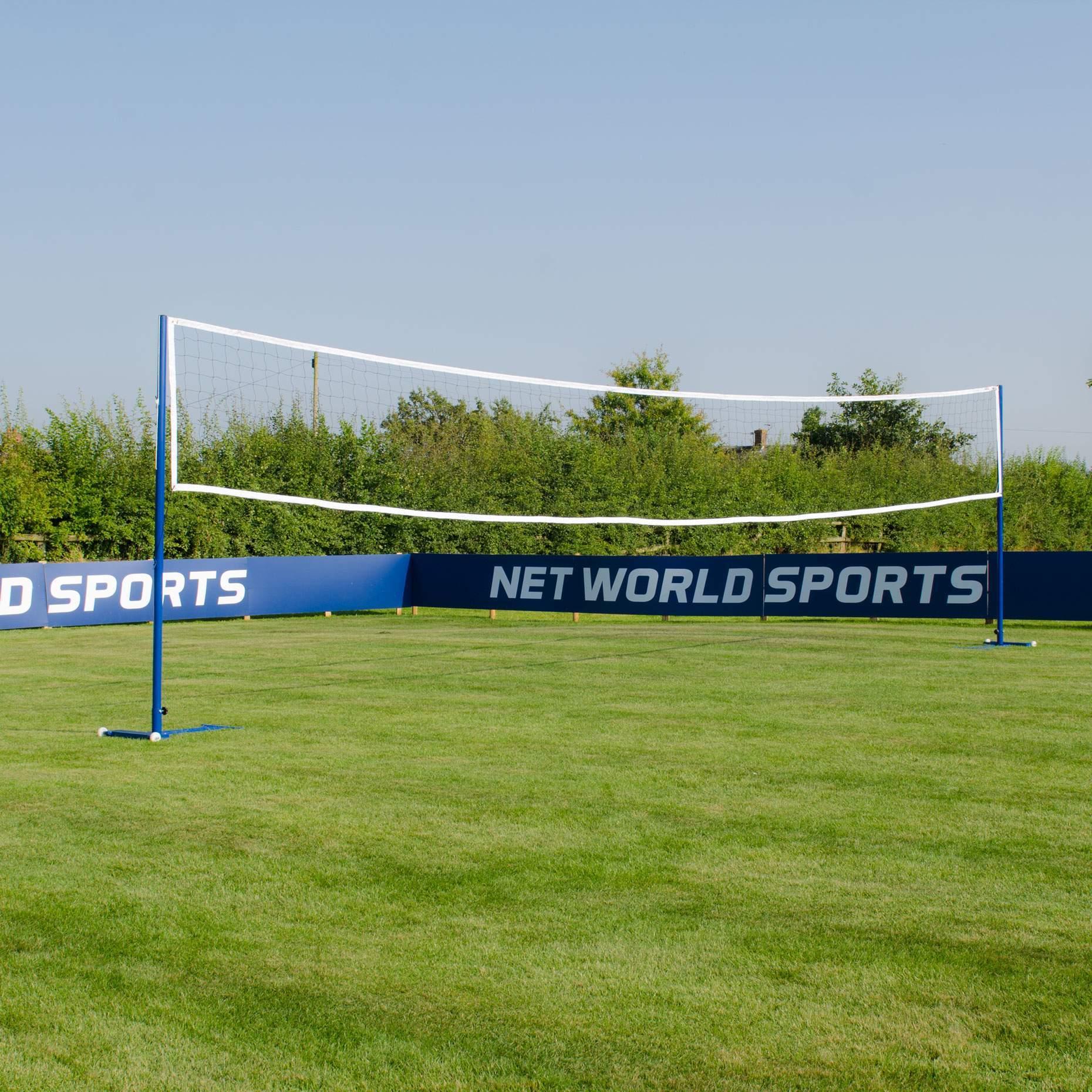 freestanding volleyball posts net world sports