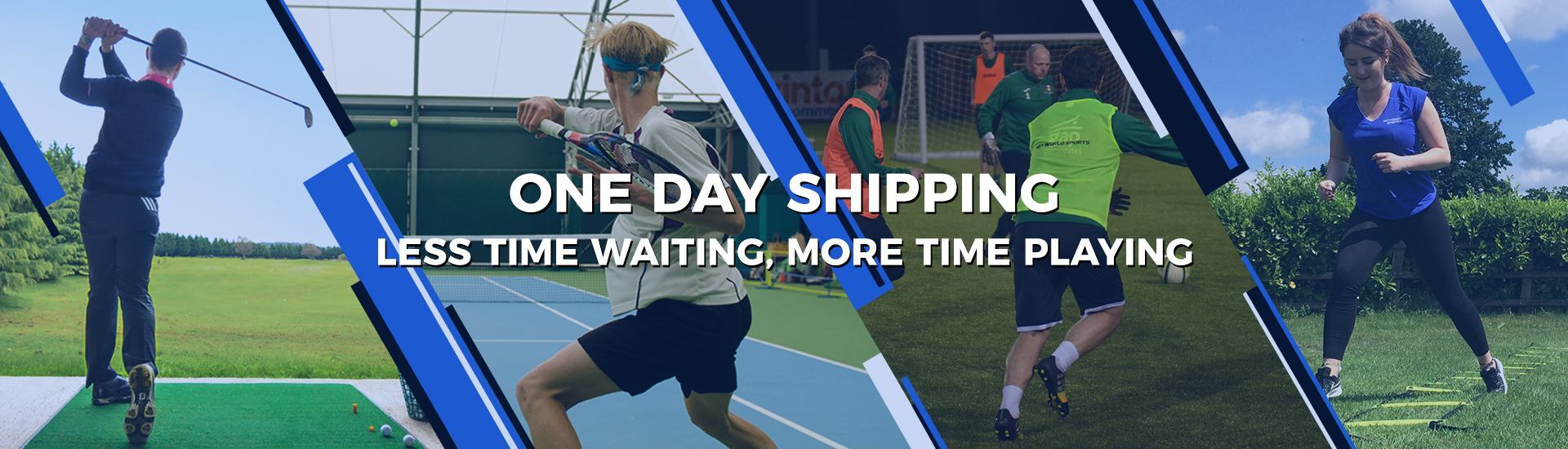 One day shipping
