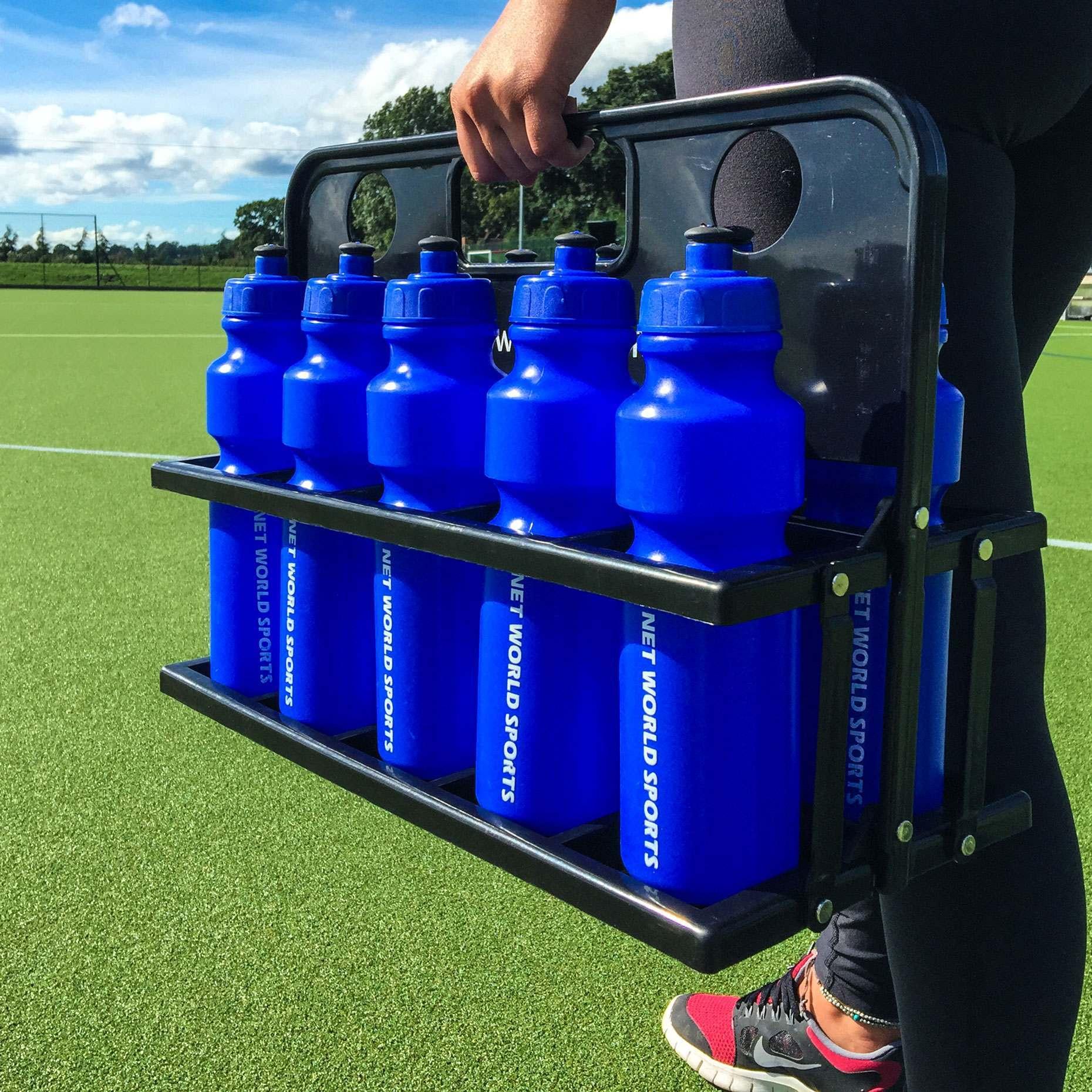 10 Water Bottles & Folding Drinks Carrier | Net World Sports