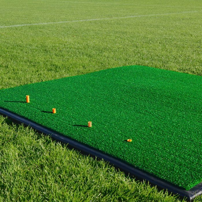 FORB Golf Driving Range Practice Mat - Perfect for home or for professional clubs