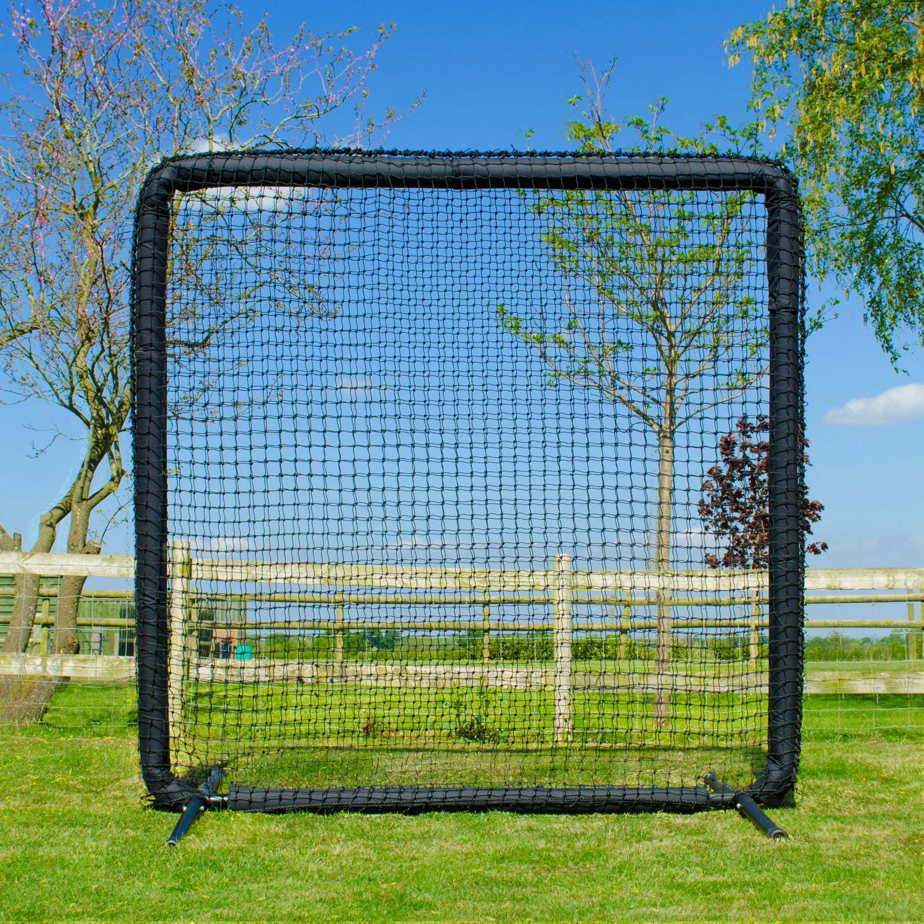 Nimitz Edition FORTRESS Square Protector Screen - The Ultimate In Baseball Protection