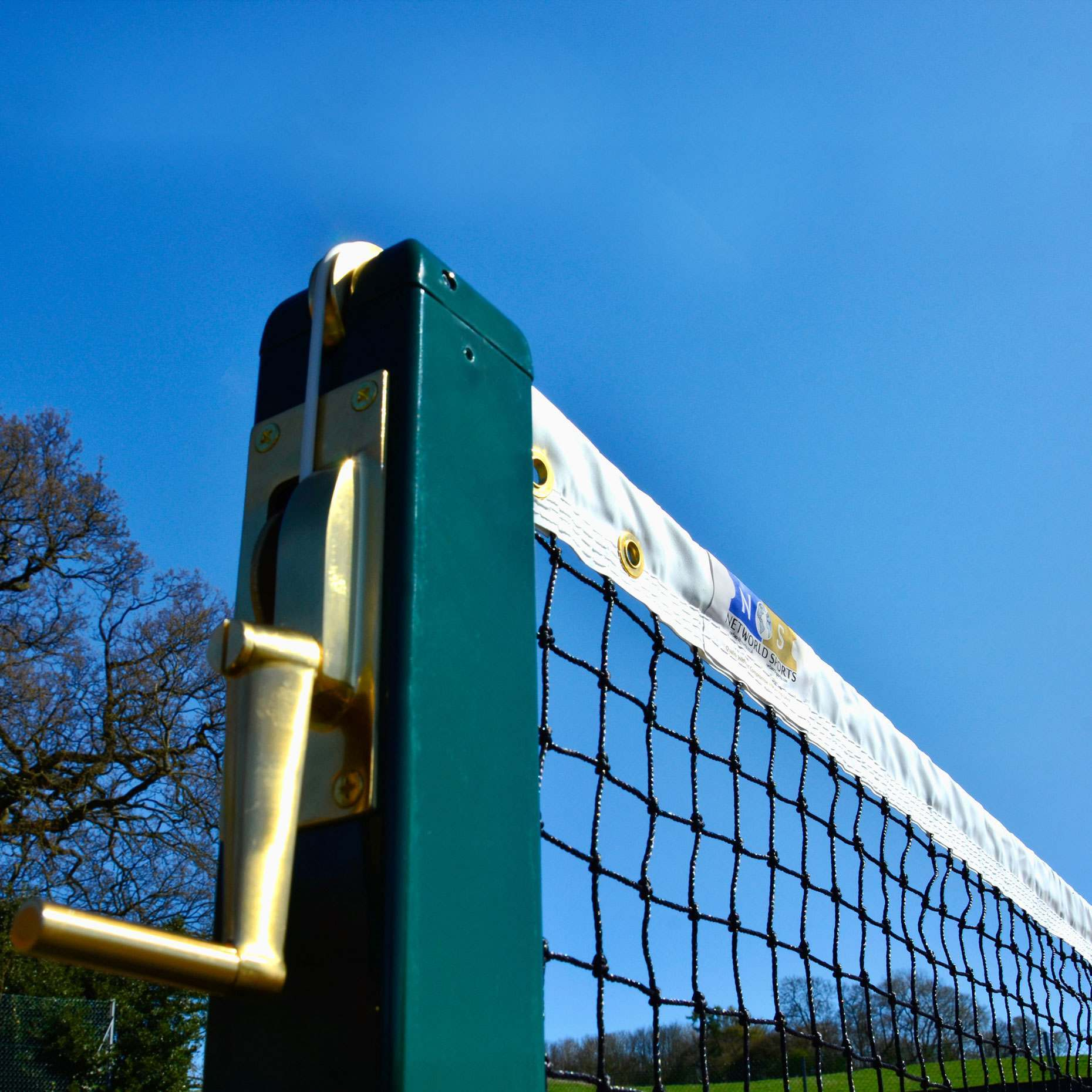 2mm Tennis Net and Post